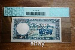 1962 South Vietnam $500 Specimen PCGS 63