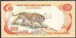 1972 Vietnam South Set Of 5 Specimen Notes