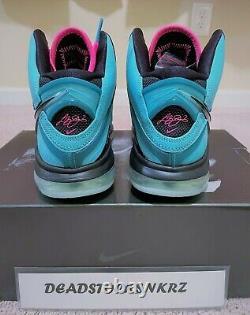 2021 Nike LeBron 8 QS South Beach CZ0328 400 Men's Sizes