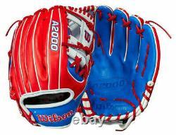 2021 Wilson A2000 1786 South Korea Country Pride Limited Glove 11.5 Baseball RHT