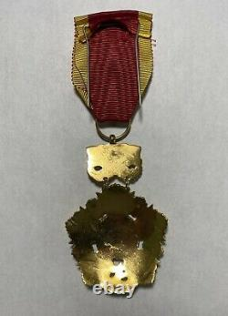 ARVN South Vietnam National Order Medal 4th Class