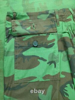 ARVN South Vietnamese Ranger Biet-Dong-Quan BDQ Leaf Pattern Camo Uniform Set XL