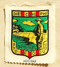 AVRN South vietnam Darlac province mobile guerrilla forces patch