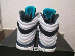 Air Jordan 8 Retro South Beach Mens Size 10 WHITE/WHITE-TURBO GREEN305381 113