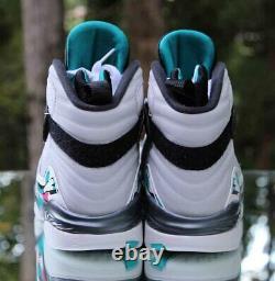 Air Jordan 8 Retro South Beach Mens Size 8.5 Turbo Green 305381-113