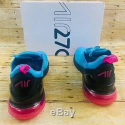 Air Max 270 South Beach SIZE 10 MEN blue fury pink heat vice mens BV6078-400