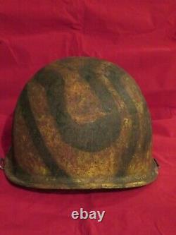 Army Republic South Vietnam 44th Advisors M-1 Helmet (NAMED)