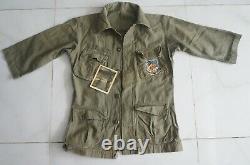 Arvn Republic South Vietnam Army Airborne Shirt Patch Vietnam War