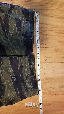 Arvn South Vietnam Cidg Ussf Recon Lrrp Tiger Stripe Camo Set About Us Medum