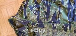Arvn South Vietnam Tiger Stripe Camo Reporter Press Bush Jacket