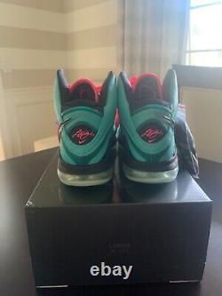 Brand New Nike Lebron 8 South Beach 2021 Men's Size 9 CZ0328-400