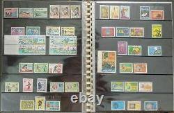 Completed collection South Vietnam MNH stamps 1951-75 including 21 unissued ones