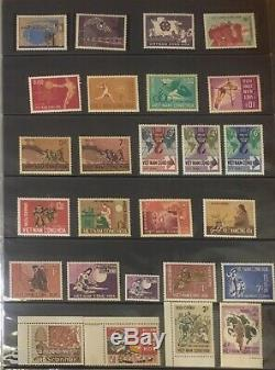 Completed collection of South Vietnam MNH perf stamps 1951-1975 incl. UNISSUED