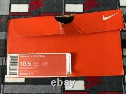 DS Nike Air Max 95 Miami Vice Size 10.5 330795 011 Black White South Beach