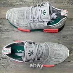 Mens Adidas NMD R1 Size 8 South Beach Grey Running Shoe FX4353