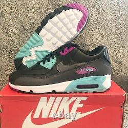 NEW Air Max 90 Leather GS'South Beach' 833412 033 5.5 Youth also fits 7 Womens