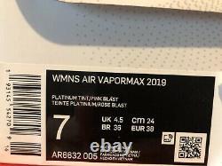 NIKE Air VaporMax South Beach AR6632-005 Size 7 US Retail $190 Running NEW BNIB
