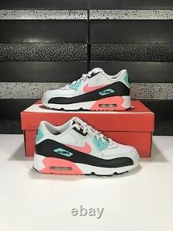 New Nike Air Max 90 LTR (PS) 833377-013 Size 3Y / Womens Size 4.5 South Beach