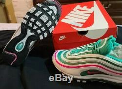 Nike AIR MAX 97 SIZE 13 NEW IN THE BOX (SOUTH BEACH)