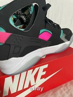 Nike Air Flight Huarache South Beach SPURS Fiesta Men Size 9 795005-003 NIB