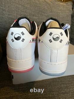 Nike Air Force 1 07 Low QS South Korea CW3919-100 Mens Size 14