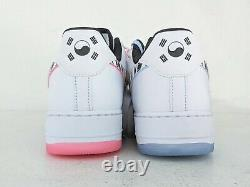 Nike Air Force 1 Low 07 QS Sz 14 South CW3919-100 Korea White Limited AF1 NSW DS