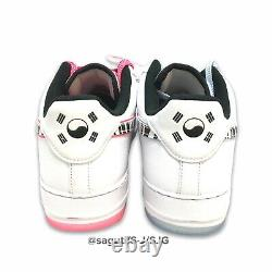 Nike Air Force 1 Low'South Korea' White Tiger Men's Size 13 New (CW3919-100)