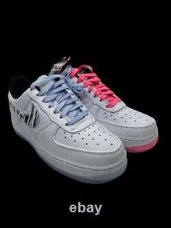 Nike Air Force 1 Low'White Tiger' South Korea CW3919-100 Men's Size 7 Women 8.5