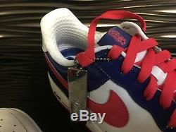 Nike Air Force 1 Premium SOUTH KOREA WHITE/GRENADINE-DEEP ROYAL 2006 Size12