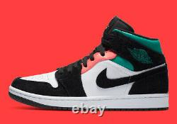 Nike Air Jordan 1 Mid SE Shoes South Beach 852542-116 Men's NEW