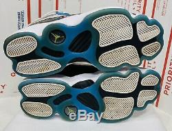 Nike Air Jordan 6 Rings South Beach Size 9.5 White Pink Blue CK0017-100 Shoes
