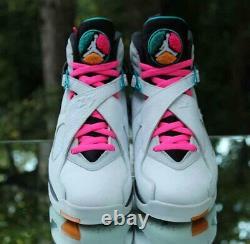 Nike Air Jordan 8 Retro South Beach Mens Size 9 Turbo Green 305381-113