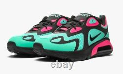Nike Air Max 200 SP South Beach Size 10.5 CU4900-300 Men's Turquoise/Pink-Black