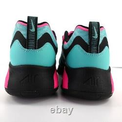Nike Air Max 200 South Beach CU4900 300 Black Pink Turquoise Men's Size 10.5