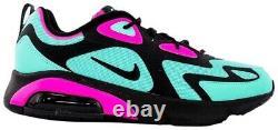 Nike Air Max 200 South Beach Hyper Turquoise Black CU4900-300 Mens Shoes sz 13