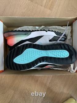 Nike Air Max 270 G South Beach Hot Punch Gray Golf Shoes Men's 9.5 CK6483-024