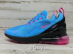 Nike Air Max 270 GS South Beach Blue Fuchsia BV6376 400 Size 4 Y Womens 5.5 Gym