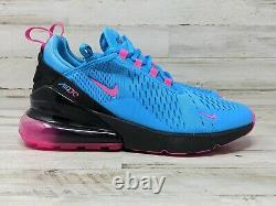 Nike Air Max 270 GS South Beach Blue Fuchsia BV6376 400 Size 6.5Y Womens 8 Gym