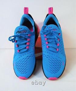Nike Air Max 270 GS South Beach Blue Fuchsia Running Shoe Sz 5.5Y NEW BV6376 400