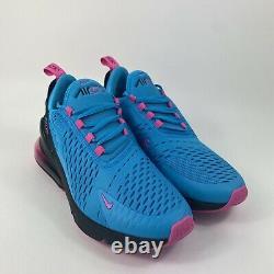 Nike Air Max 270 GS South Beach Blue Fuchsia Sz 7Y Womens 8.5 BV6376-400