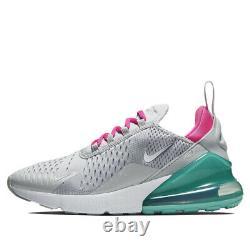 Nike Air Max 270 Grey Pink White South Beach 2019 AH6789-065 Wmns SZ 7