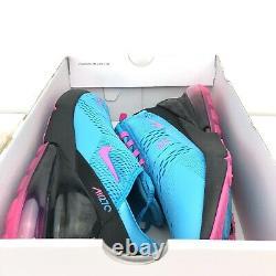 Nike Air Max 270 Mens 11 Shoes Miami South Beach Fuschia BV6078 400 New