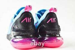 Nike Air Max 270 (Mens Size 10.5) Shoes BV6078 400 Miami South Beach Fuschia