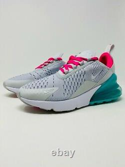 Nike Air Max 270 Running Shoes White South Beach (AH6789-065) Women's Size 5