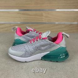 Nike Air Max 270 Running Shoes White South Beach (AH6789-065) Women's Size 6