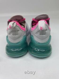 Nike Air Max 270 Running Shoes White South Beach AH6789-065 Women's Size 6.5