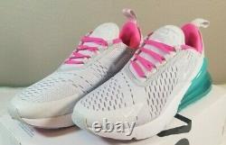 Nike Air Max 270 Running Shoes White South Beach AH6789-065 Women's Size 7