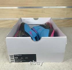 Nike Air Max 270 South Beach Blue Fury Laser Fuchsia Sz 12 Shoes BV6078-400