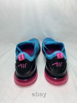 Nike Air Max 270 South Beach Mens Size 11 BLE FURY/LASER FUCHSIA BV6078 400