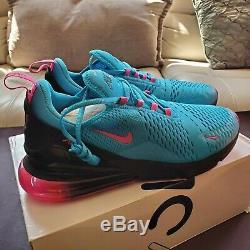 Nike Air Max 270 South Beach Miami Heat Vice Nights BV6078 400 Men's Size 11.5